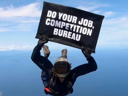 Jetlines interpelle le Bureau de la concurrence… du haut des airs !