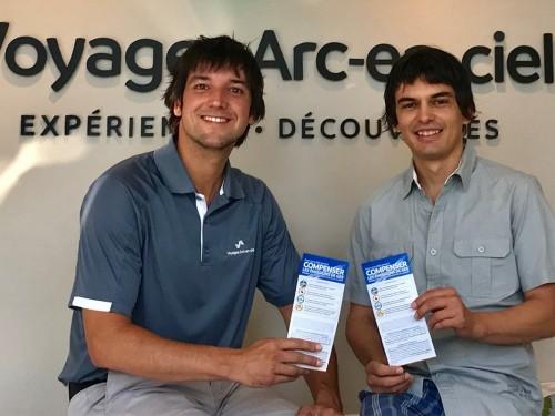 Voyages Arc-en-ciel: un outil pour sensibiliser sur la compensation carbone en avion