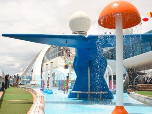 Princess Cruises ajoute un parc aquatique famillial sur le Caribbean Princess