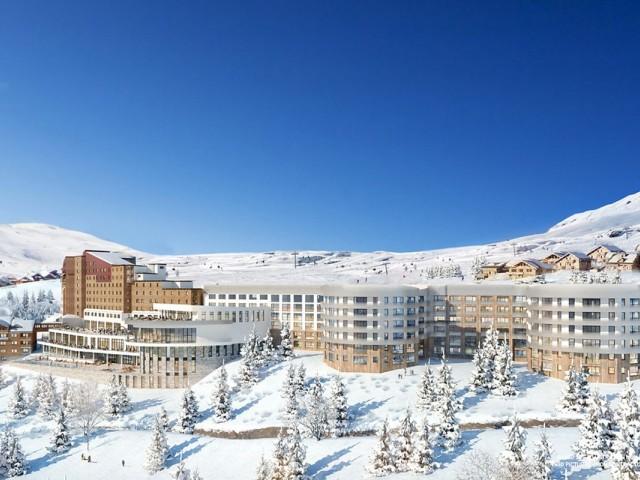 PHOTOS : rénové, le Club Med Alpe d'Huez rouvrira ses portes en décembre