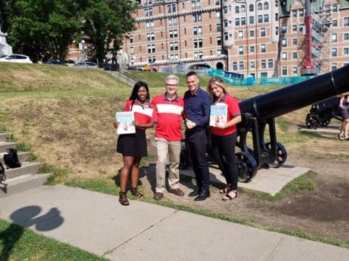 VAC : tournée de promotion de sa brochure Soleil dans les agences de Québec