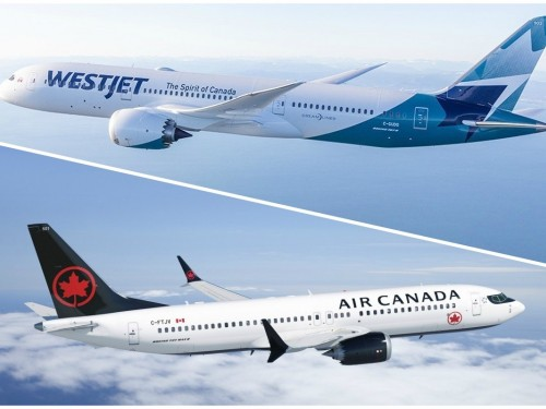 Air Canada conteste l'acquisition de WestJet par Onex auprès de l'OTC