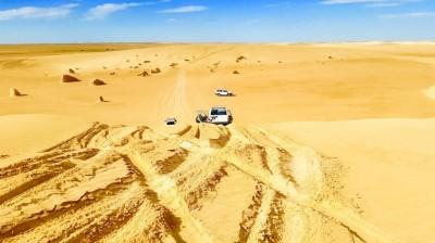Perdu dans le Sahara