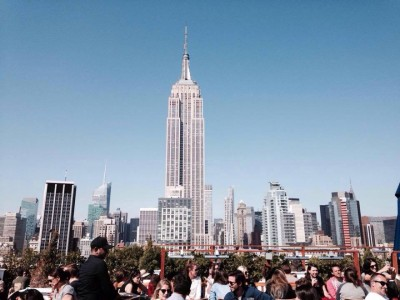 Vue Empire State Building bar terrasse
