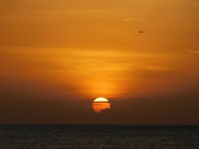 Entre ciel et Terre/Mer