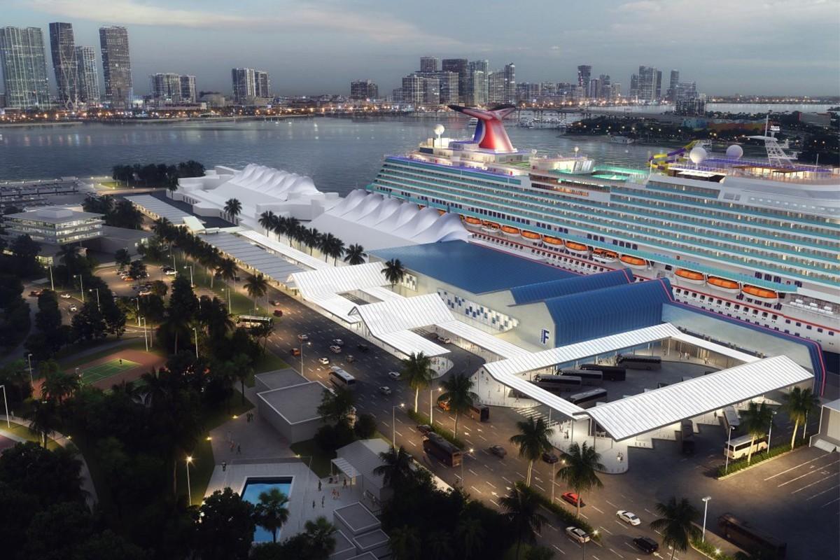 Carnival prévoit un agrandissement majeur du terminal F à PortMiami