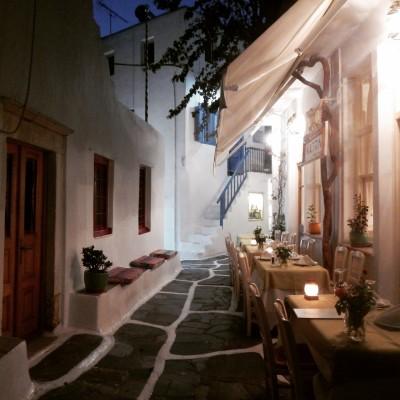 Bistro a Mykonos
