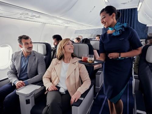 Les passagers de WestJet peuvent maintenant s'inscrire pour être surclassés