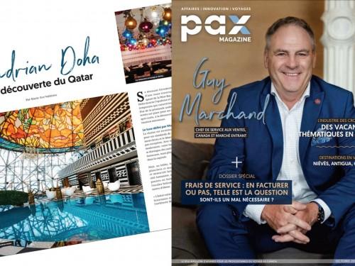L'édition d'octobre 2019 de PAX magazine est maintenant disponible !