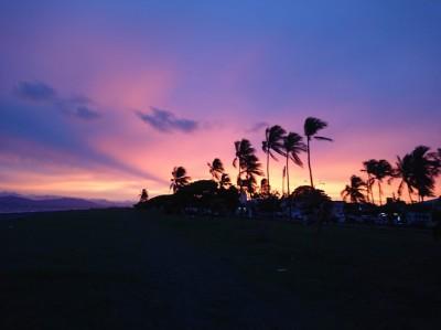 Couché soleil de la péninsule