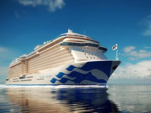 PHOTOS : Princess dévoile les détails sur son prochain navire