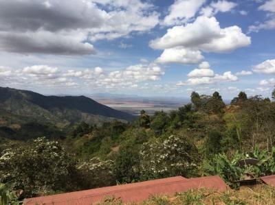 Vue sur l'Ouganda