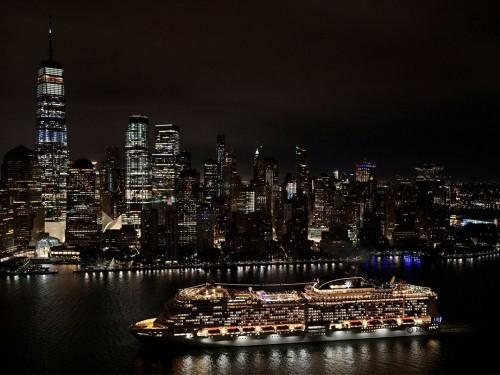 Le plus récent navire de MSC Cruises fait ses débuts en Amérique du Nord