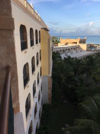 Sanctuary Cap Cana : vue de mon balcon