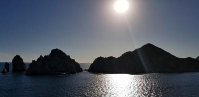 Coucher de soleil sur Cabo San Lucas