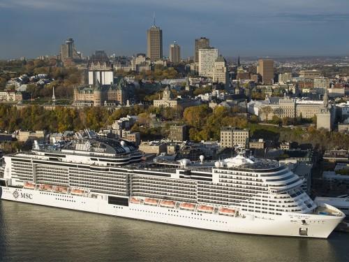 MSC Cruises : une merveille nommée Meraviglia en visite à Québec