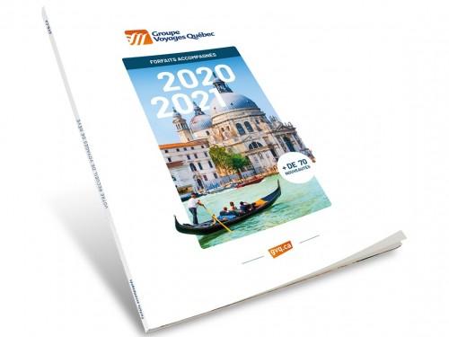Plus de 70 nouveautés dans la nouvelle brochure 2020-2021 de GVQ