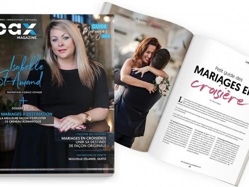 L'édition de novembre 2019 de PAX magazine est maintenant disponible !