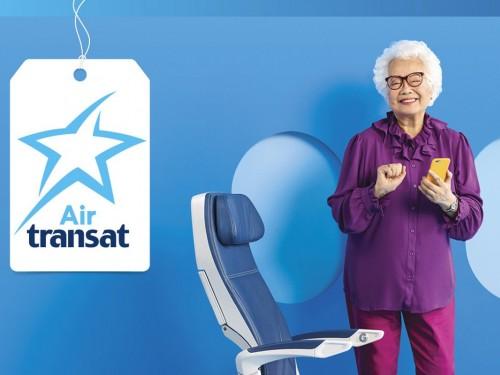 Air Transat présente un nouveau système de divertissement en vol à bord