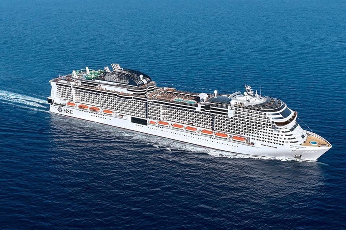 PHOTOS: découvrez le Grandiosa, nouveau navire de MSC Croisières