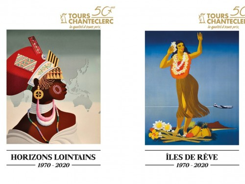 Deux nouvelles brochures pour Tours Chanteclerc : 50 ans, 50 itinéraires !