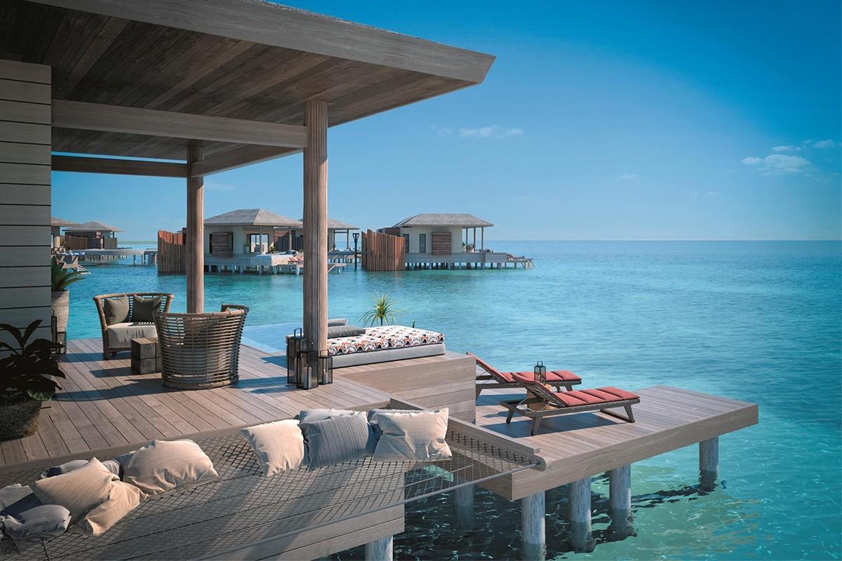 Un tout-inclus avec des bungalows sur l'eau ouvrira en 2021 dans les Caraïbes