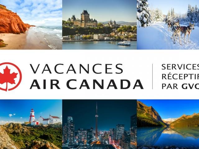 Tourisme réceptif : VAC et GVQ lancent Vacances Air Canada par GVQ