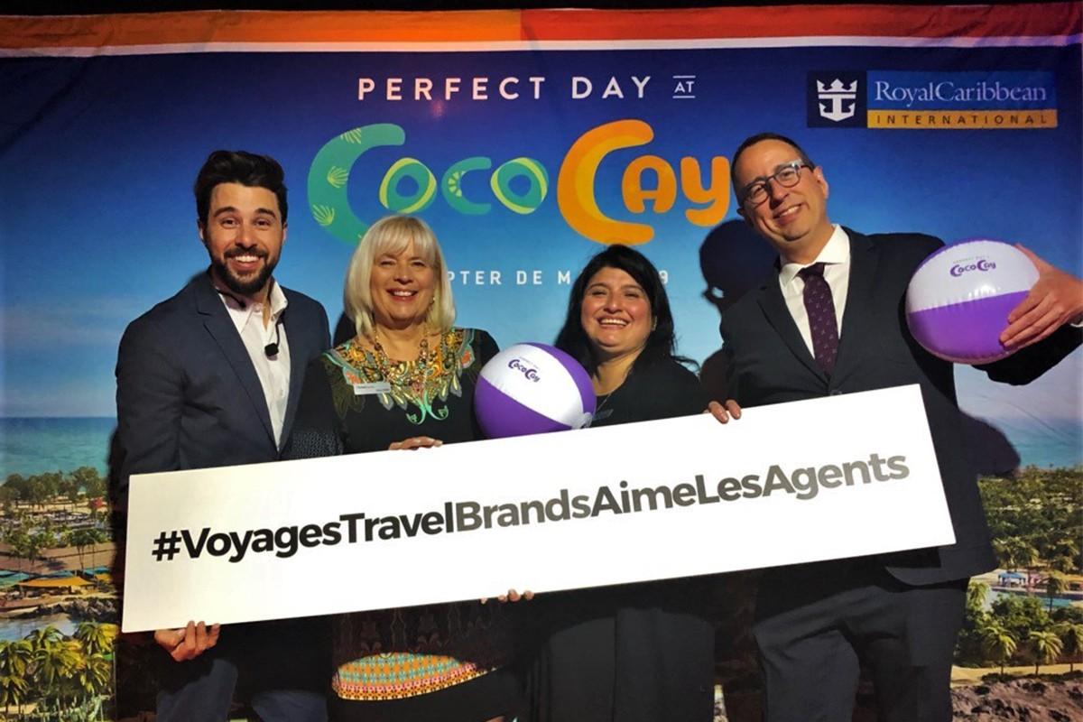 Royal Caribbean et TravelBrands applaudissent leurs meilleurs vendeurs