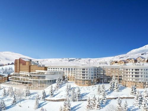 Le Club Med Alpe d'Huez, tout neuf, est maintenant ouvert