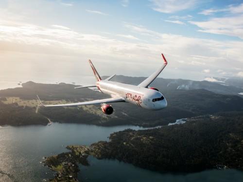 Internet haute vitesse disponible sur tous les vols d'AC Rouge