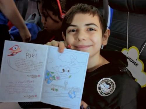 Des enfants vivent des moments magiques grâce à AC et Voyage de rêve