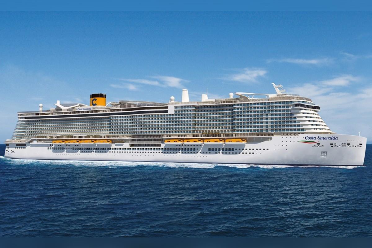 VIDÉO: découvrez le Smeralda, nouveau navire de Costa