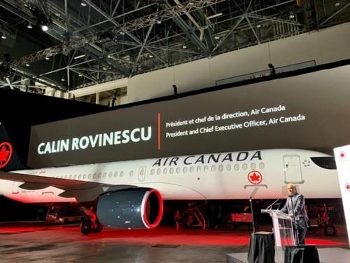 Air Canada accueille le tout premier A220 dans sa flotte