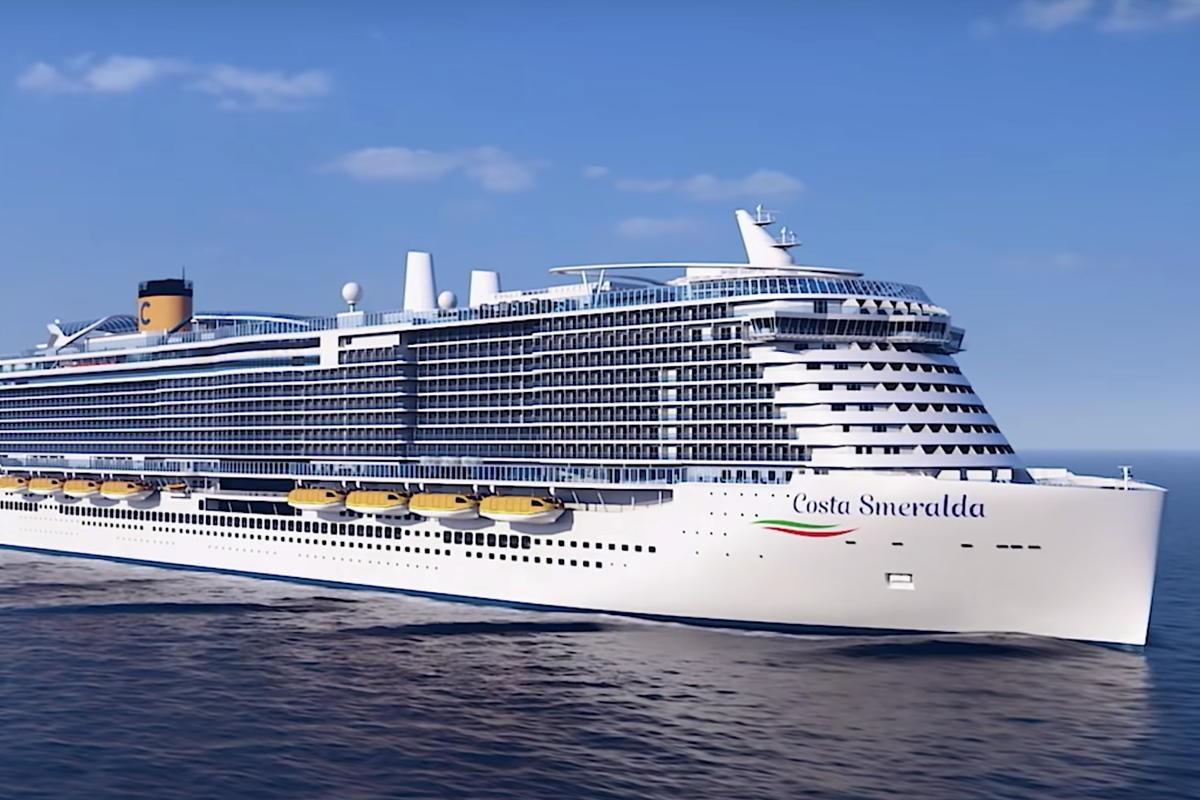 6 000 passagers bloqués sur le Costa Smeralda suite aux craintes du coronavirus