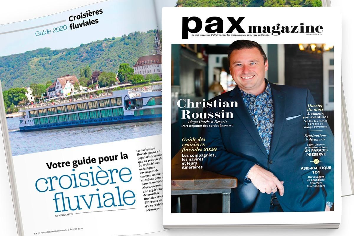 L'édition de février 2020 de PAX magazine est maintenant disponible !