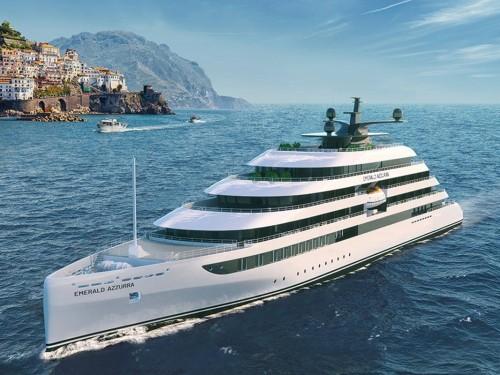 Emerald ajoute un yacht intime de 100 passagers à sa flotte avec l'Azzurra