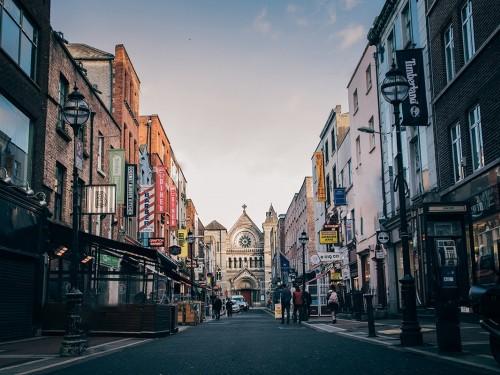 Flâner à Dublin