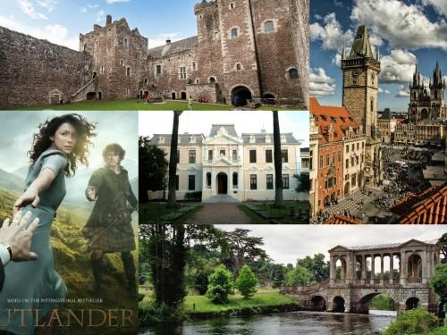 Voyager dans le temps : les lieux de tournage de la série Outlander - le chardon et le tartan