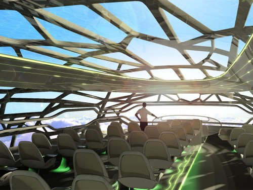 L'avion du futur : découvrez de nouveaux concepts de cabine