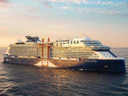 PHOTOS: découvrez l'APEX, nouveau navire de Celebrity
