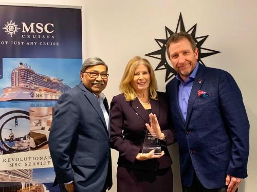 MSC désigne Sunwing comme voyagiste canadien de l'année pour une 3e fois