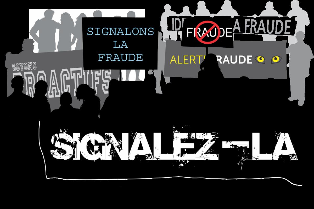 La fraude : identifiez-la, signalez-la, enrayez-la !