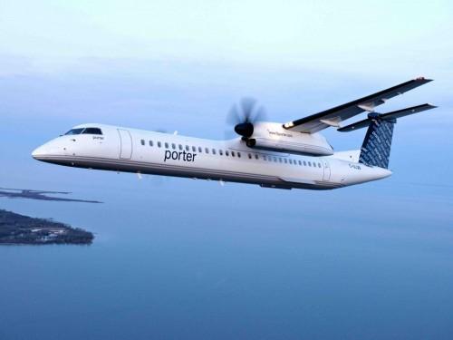 Porter Airlines suspend aussi ses vols « pour soutenir les efforts de secours de la COVID-19 »