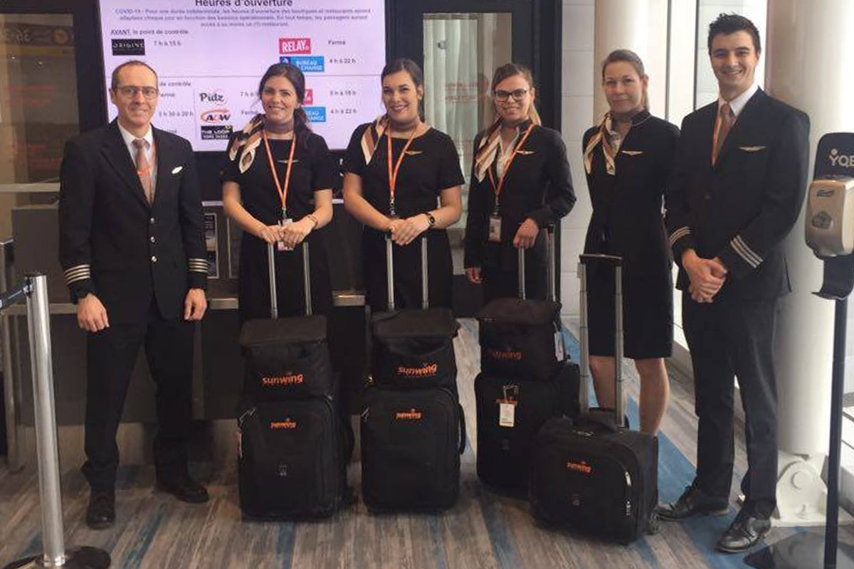 Sunwing achève aujourd'hui ses derniers vols de rapatriement de Canadiens à l'étranger