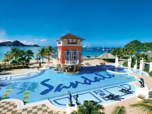 Fermeture temporaire de tous les hôtels Sandals & Beaches