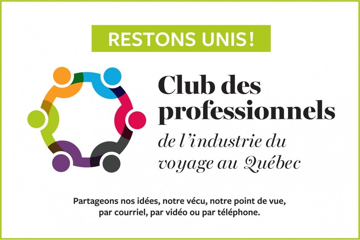 Restons unis ! PAX lance le Club des professionnels de l'industrie du voyage au Québec