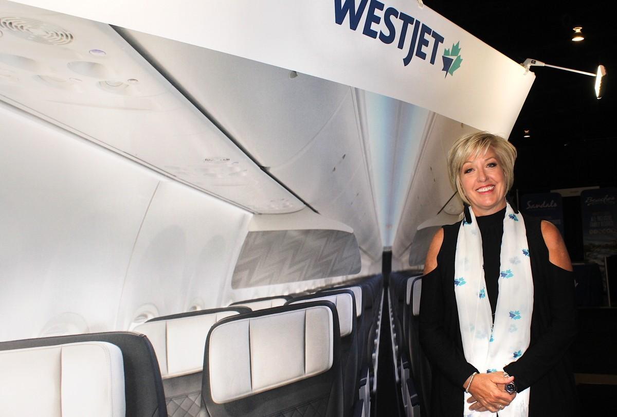 L'équipe de BDM de WestJet en congé temporaire