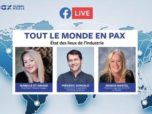 Facebook Live : Tout le monde en PAX