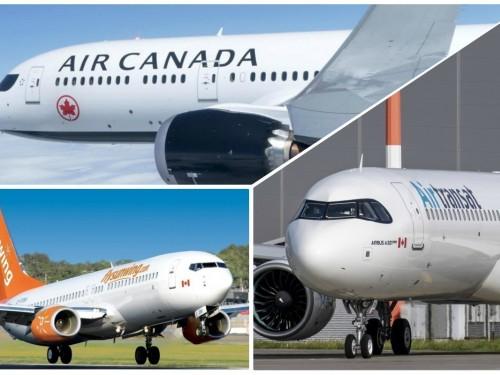 Air Canada, Air Transat et Sunwing suspendent leurs vols jusqu'en juin au moins
