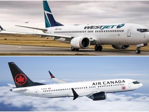 Ottawa envisage d'aider financièrement Air Canada et WestJet